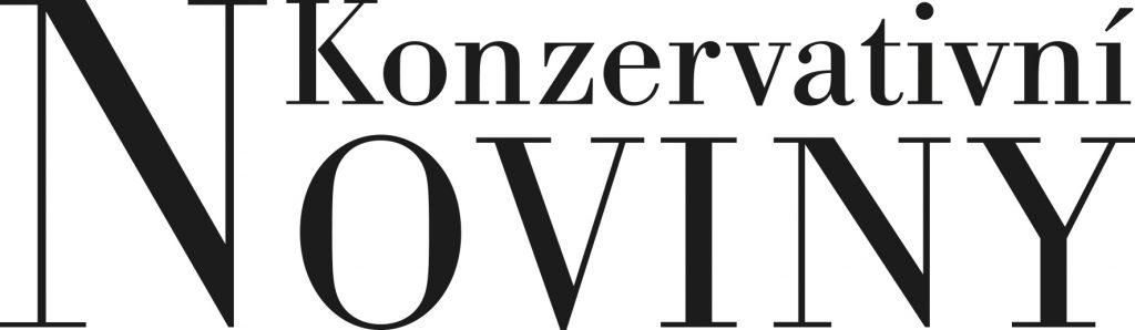 Konzervativní noviny, logo konzervativní noviny, logo kn