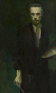 Ctibor Belan: Autoportrét (Oravská galéria, zdroj: Webumenia.sk)