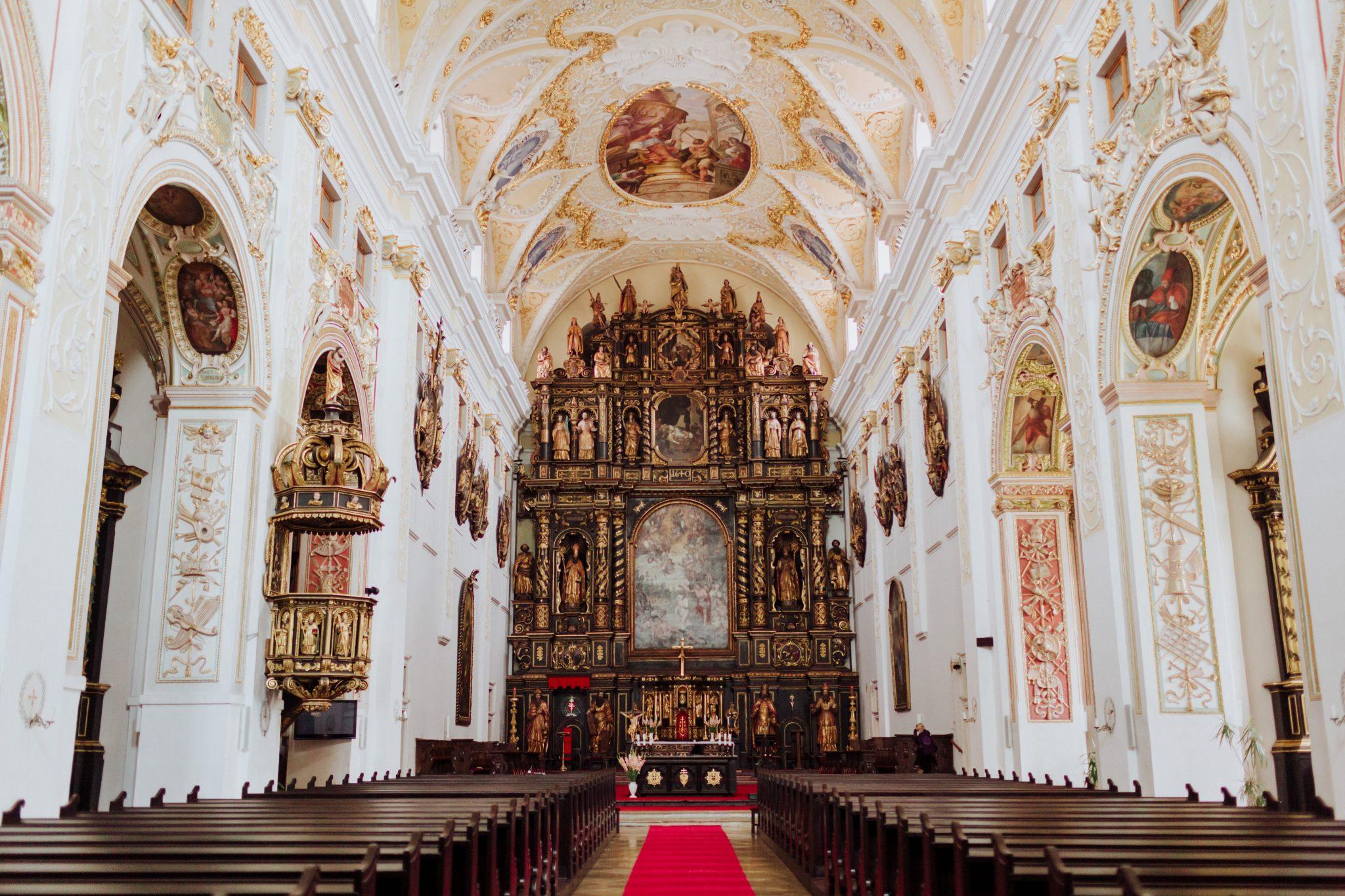 jezuitský kostol Trnava (foto Barbora Likavská)